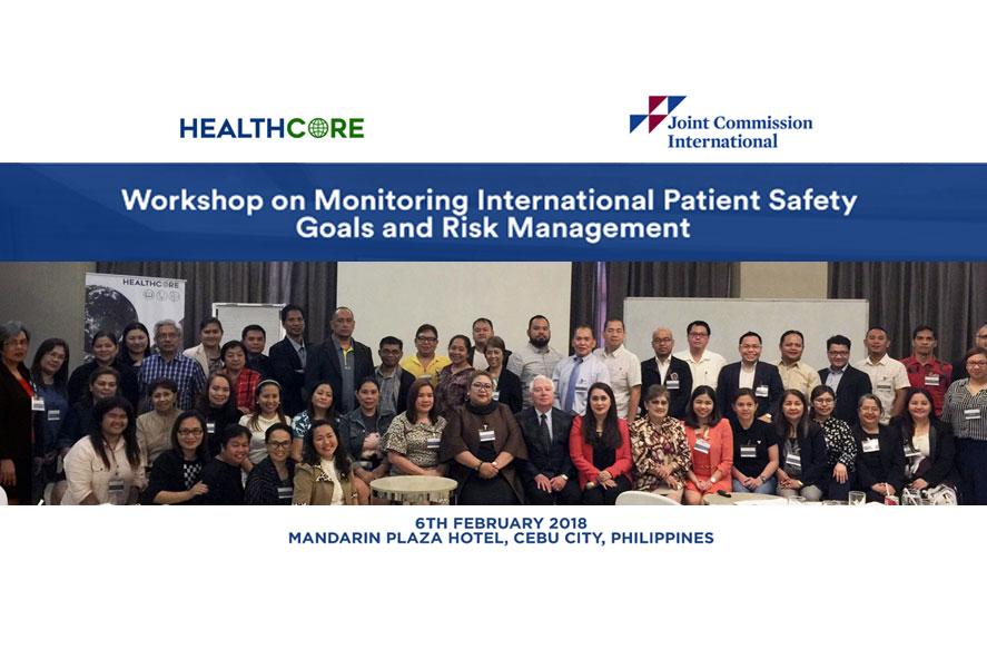 Monitoring International Patient Safety Goals and Risk Management Workshop Participants