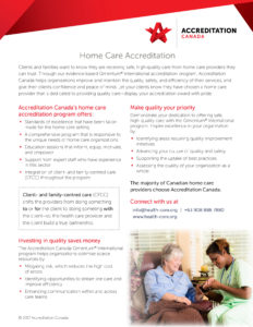 Home Care Accreditation