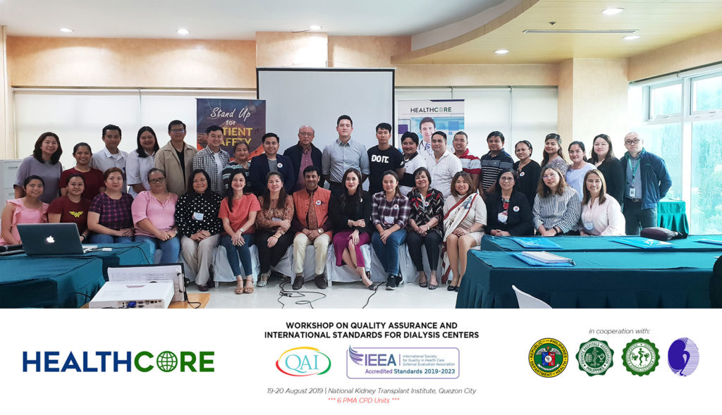 Workshop on Quality Assurance &  International Standards for Dialysis Centers